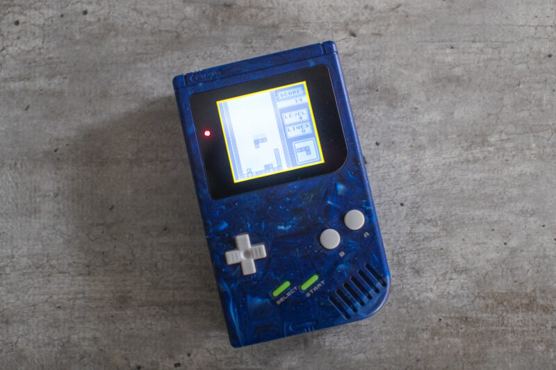 Retromodding Neptune Game Boy DMG