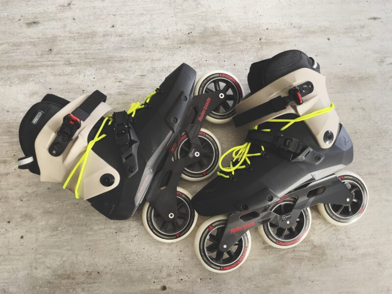 Rollerblading!
